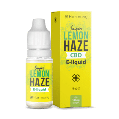 Harmony CBD E-Liquid 6% Lemon Haze