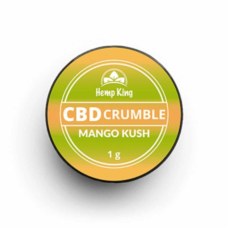 hemp king cbd crumble mango kush