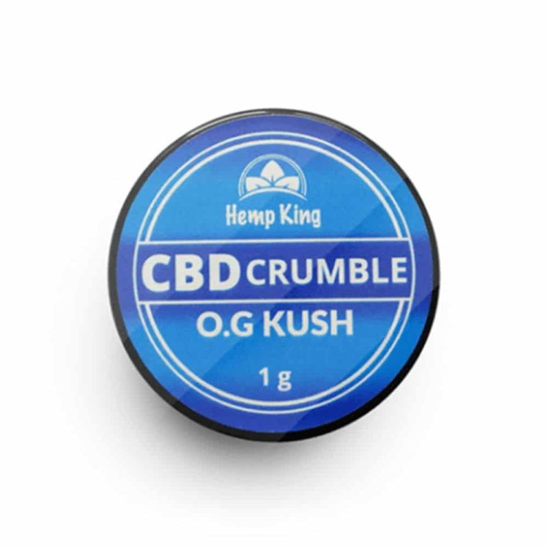 hemp king cbd crumble og kush