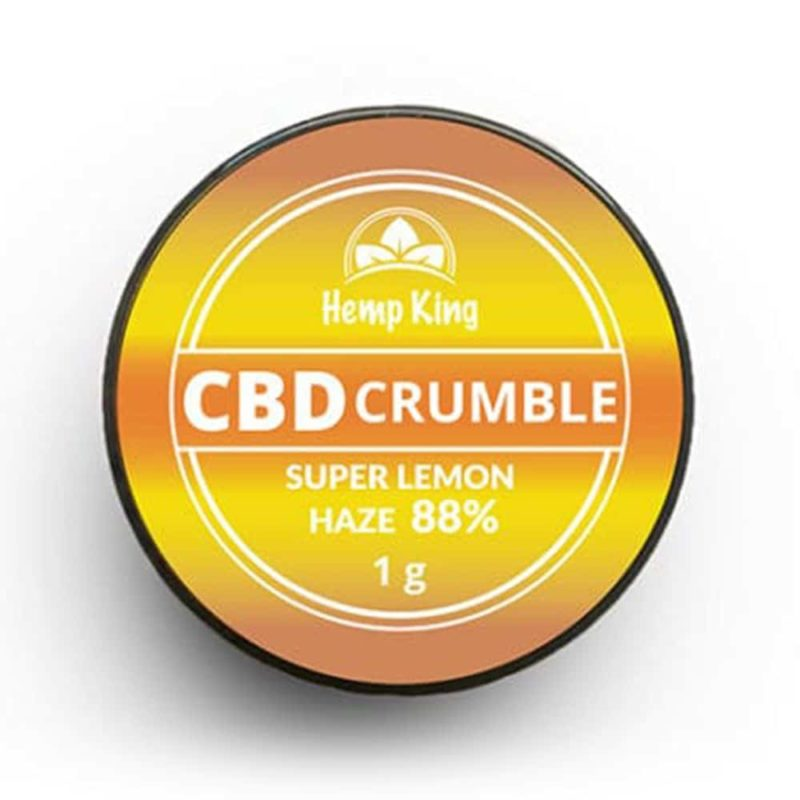 hemp king cbd crumble 88 prozent