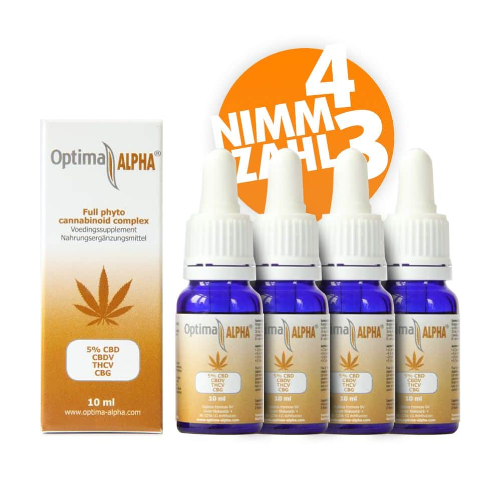 Optima Alpha 5% - 4 für 3