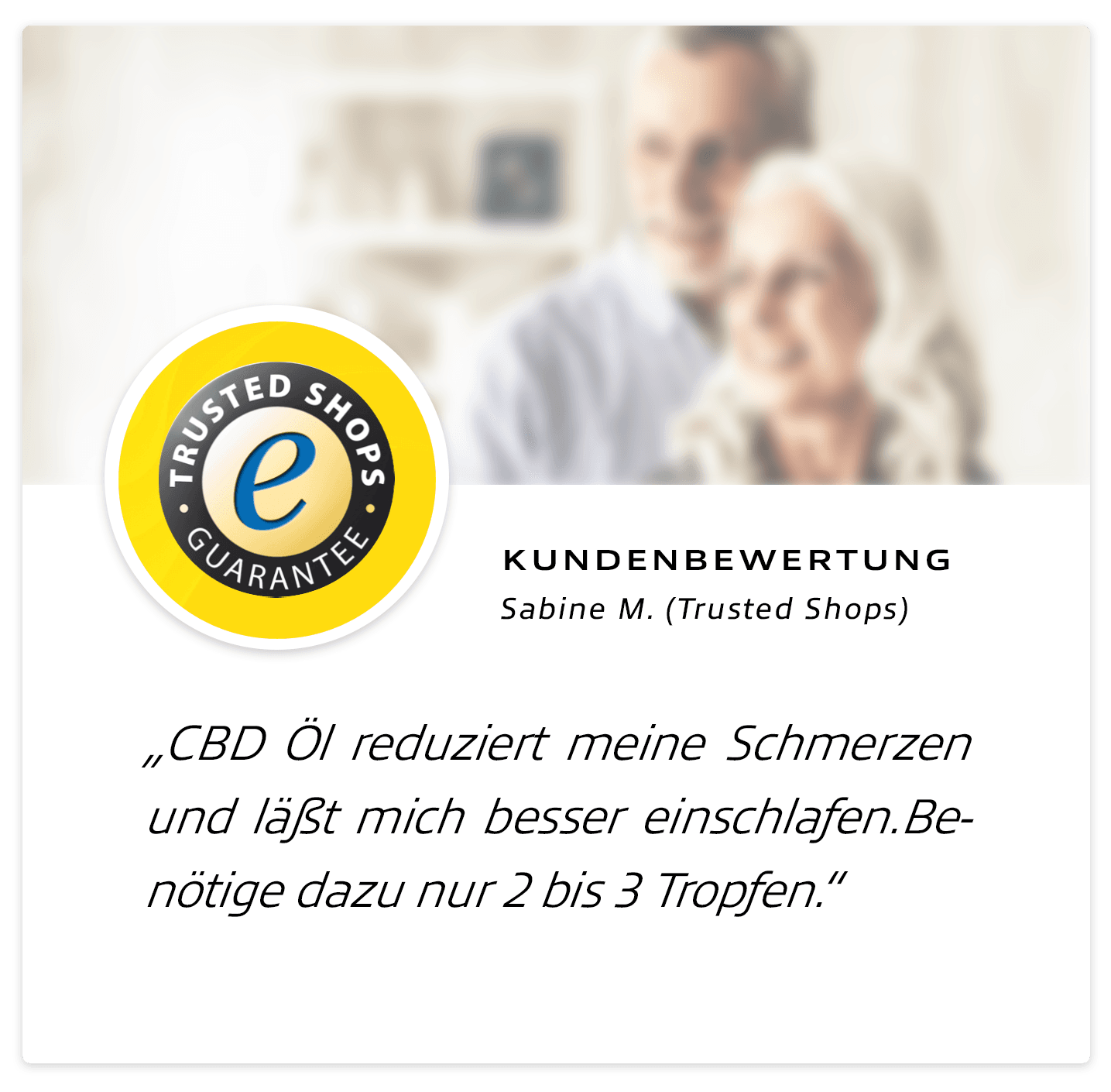 CBD-DEAL24 Erfahrungen: Trusted Shops 01