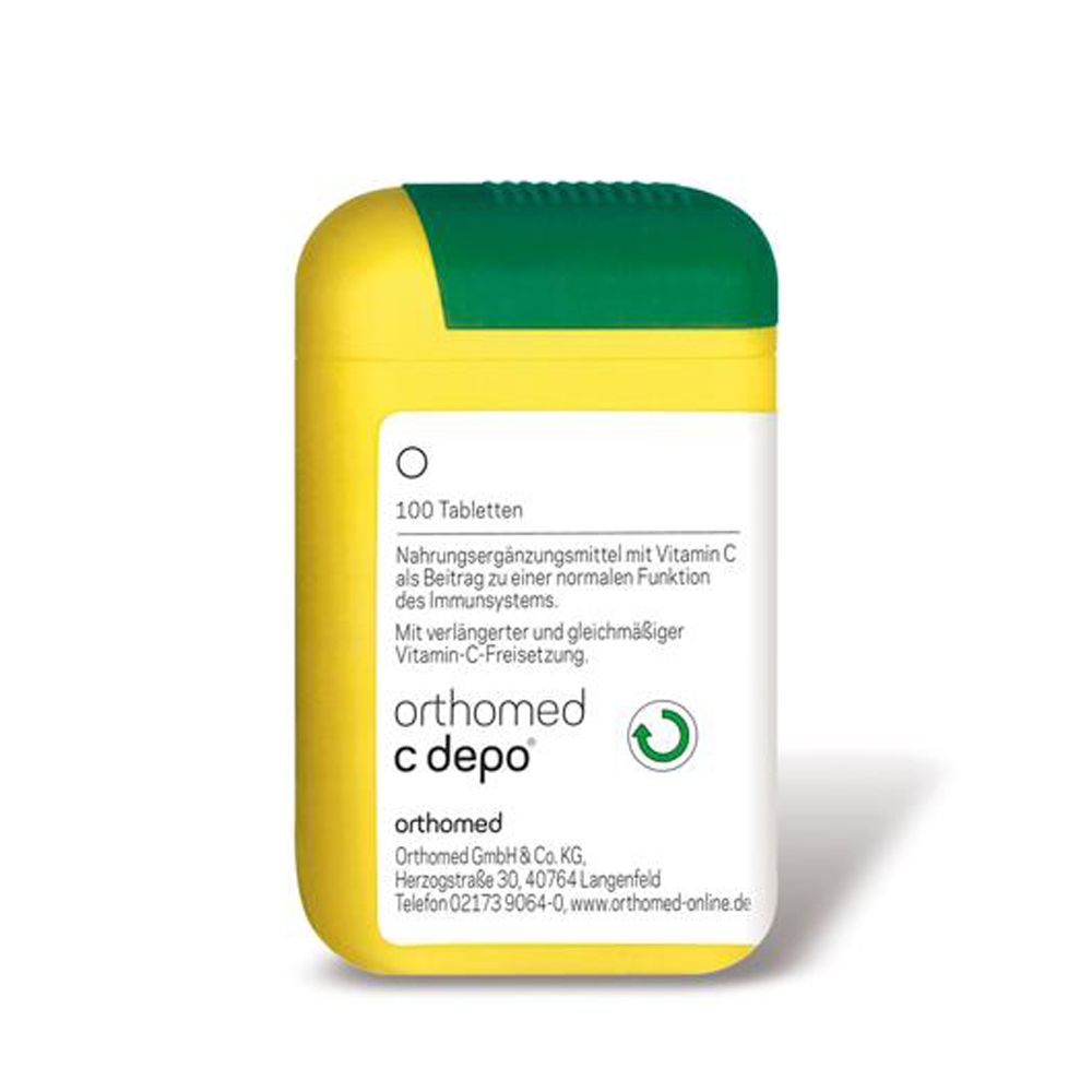 Orthomed C depo, 10 x 100 Tabletten